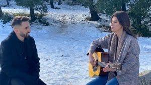 אודיה אזולאי ומושיקו מור | צילום: אלירן סאסי