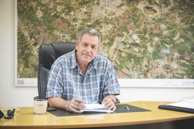 ראש המועצה האזורית עמק יזרעאל אייל בצר (צילום: באדיבות דוברות המועצה)