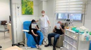 אתר עירויי ברזל חדש במרפאת היועצת בקרית אתא   צילום: דוברות כללית