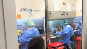 חדר תת לחץ חדש במעבדה המחוזית   צילום: דוברות כללית