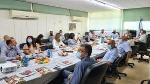 ישיבת המועצה על פתיחת בית הספר | צילום: דוברות המועצה