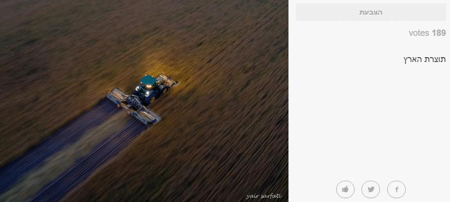 התמונה מהתחרות | צילום: מתוך האתר של נשיונל גיאוגרפיק, באדיבות יאיר צרפתי