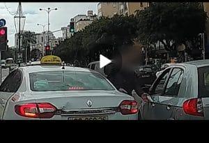 קילל וניקב צמיגים | צילום: דוברות המשטרה