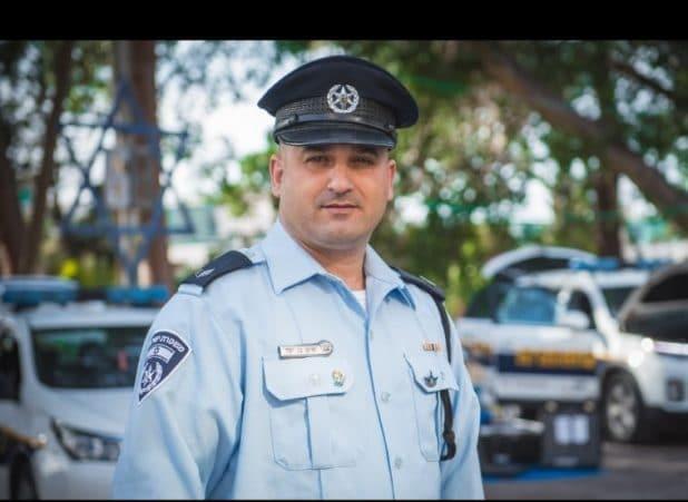 השוטר רפי בן חמו נפטר | צילום: דוברות המשטרה