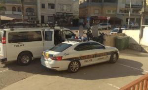 מבצע האכיפה באכסאל (צילום: דוברות המשטרה)