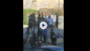 אכיפה משטרתית בקרית אתא נגד נפצים וזיקוקים | צילום: דוברות המשטרה
