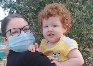 מלינה ניסנהאוז ובתה טליה אריאלה | צילום: באדיבות מלינה ניסנהאוז