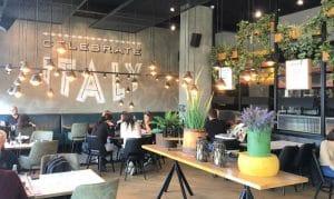 המסעדות ובתי הקפה בקריות נפתחו, 'ויוינו'   צילום: רינה קיסלמן