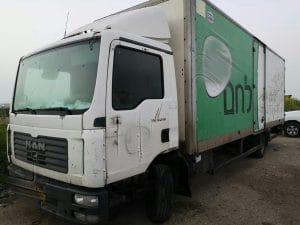 משאית נטושה?   צילום: דוברות המשטרה