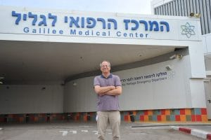 דובר המרכז הרפואי לגליל, גל זייד | צילום: רוני אלברט