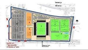 האיצטדיון החדש | הדמייה: גולדשמידט ארדיטי בן-נעים אדריכלים, באדיבות הפועל חדרה