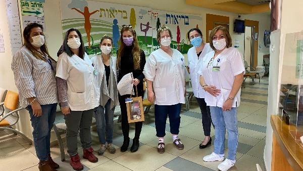 צוות המרכז לבריאות האישה בעכו | צילום: דוברות כללית