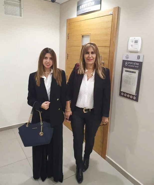 עורכות הדין, יעל בן דוד ונעמה אלוס-כהן   צילום: באדיבות המצולמות, אוסף פרטי