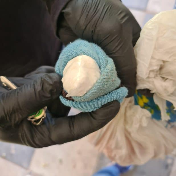 הסמים שנתפסו   צילום דוברות המשטרה