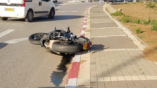 זירת התאונה   צילום: דוברות איחוד הצלה