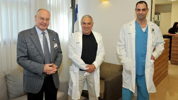 מימין: פרופ' סרוג'י, פרופ' נחליאלי ופרופ' ברהום | צילום: רוני אלברט