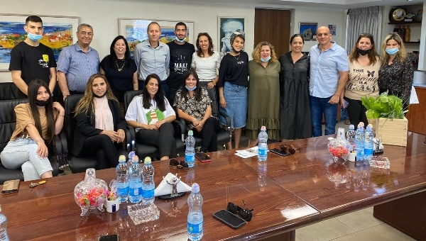 פרס הכיתה המתחסנת   צילום: דוברות עיריית עכו