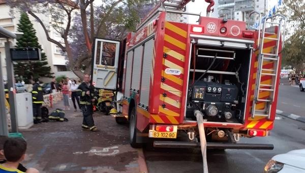 ניידת כיבוי אש   צילום: דוברות כיבוי אש