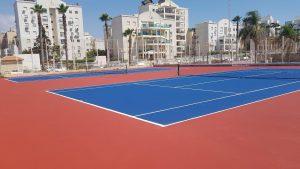 מרכז הטניס והחינוך בעיר נהריה | צילום: דוברות עיריית נהריה