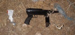 נשק חם | צילום: דוברות המשטרה