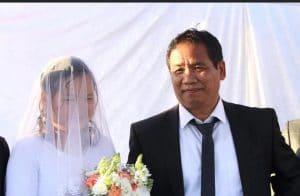 אהובה צ׳ומלוי ומכיר וואיפי נשואים   צילום: באדיבות דוברות עיריית נוף הגליל