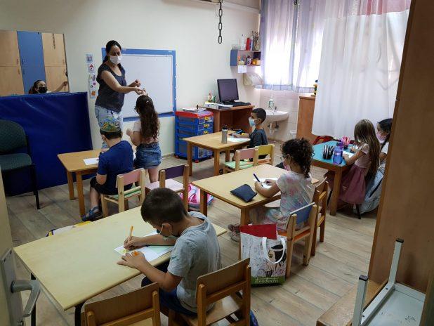 סדנת הכנה לכיתה א' | צילום: דוברות כללית