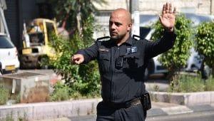 מבצע תנועה נצרת | צילום: דוברות המשטרה