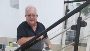 סגן ראש העיר עפולה לשעבר, ראובן יוקלר   צילום: טליה בן סבו