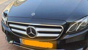 הרכב שבו נתפס הקטין נוהג ללא רישיון | צילום: דוברות המשטרה