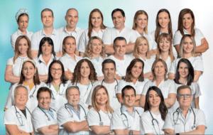 אנשי צוות ממרפאות קריות ומרכז רפואי זבולון   צילום: דוברות כללית