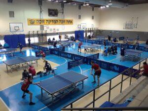אליפות ישראל בטניס שולחן 21 בקרית חיים   צילום: איגוד טניס השולחן בישראל