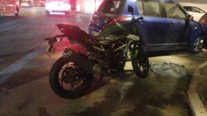 תאונת דרכים במעורבות אופנוע בקרית אתא | צילום: איחוד הצלה
