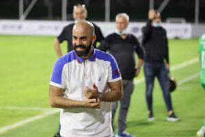הישג באיטליה, המאמן אדהם הדייה   צילום: חגאג רחאל