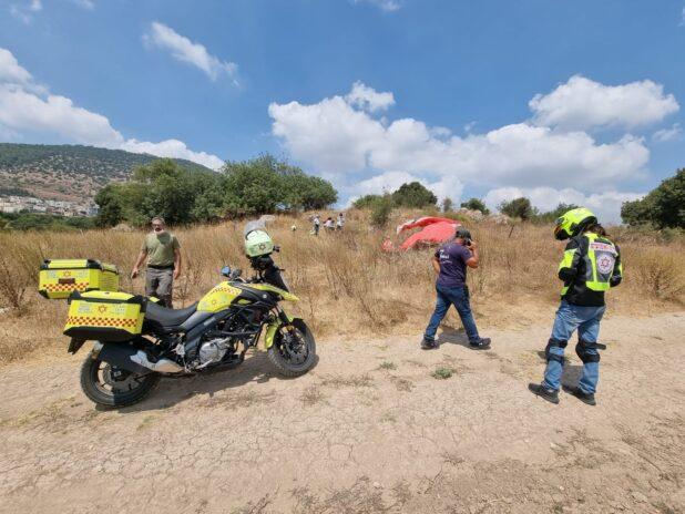 נקבע מותו של הצנחן שהתרסק סמוך לכפר תבור | צילום: דודו ברגר, תיעוד מבצעי מד