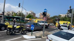 תאונת דרכים בדרך עכו בקריות   צילום: תיעוד מבצעי מד