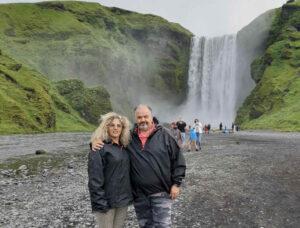 אתי ורז חורשים את איסלנד (צילום באדיבות המצולמים)