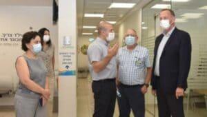 סיור במרפאות כללית קרית אתא   צילום: דוד חורש, דוברות כללית